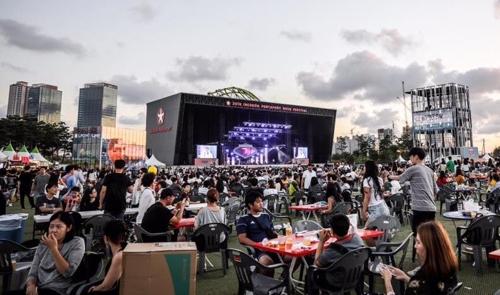 [#꿀잼여행] 수도권: 명품 맥주 20여 가지 한 곳에 모았다…송도맥주축제