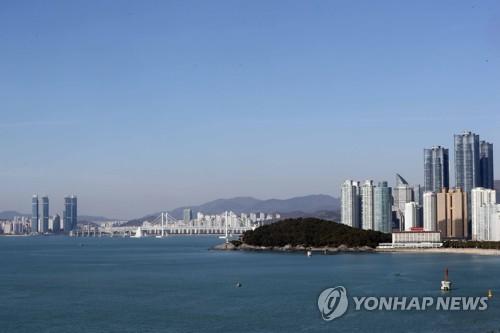 해운대 마린시티∼달맞이 언덕 관광거리 구축