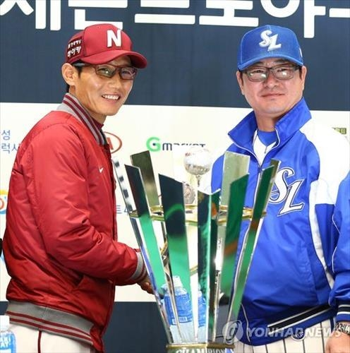 (LEAD) Three-time defending champs face upstart juggernaut for S. Korean baseball supremacy - 2