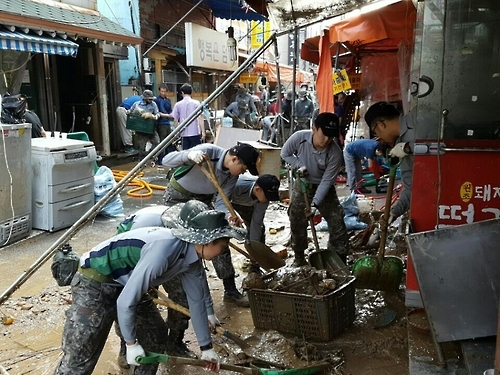 Army extends helping hand in restoration work after typhoon