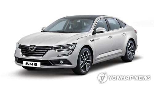 SM6 from Renault Samsung (Photo courtesy of Renault Samsung) (Yonhap)