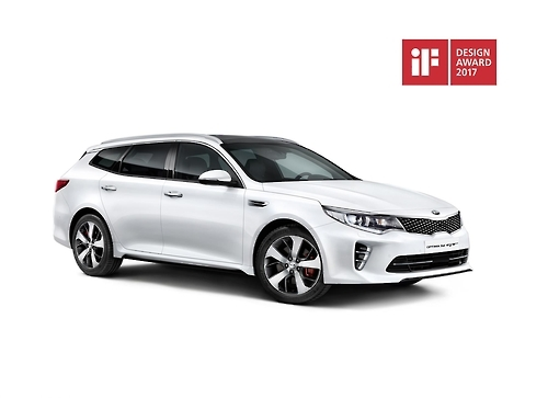 The Kia K5 sports wagon (Photo courtesy of Kia Motors)