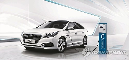 The Hyundai Sonata plug-in hybrid (Photo courtesy of Hyundai Motor)