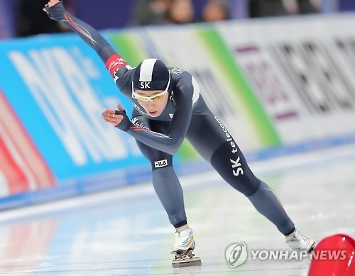 Star speed skater sticks to race plan for 'satisfying' result at worlds