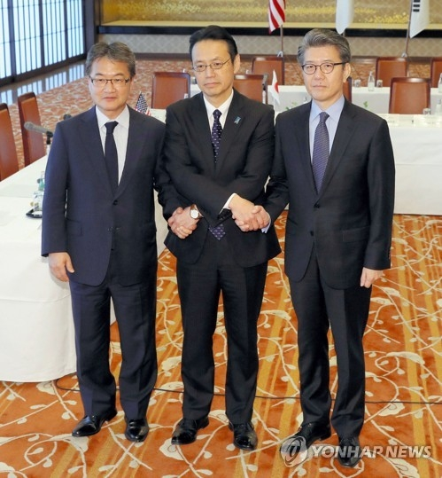 Nuke envoys from S. Korea, U.S., Japan meet to coordinate ways to reign in North - 1