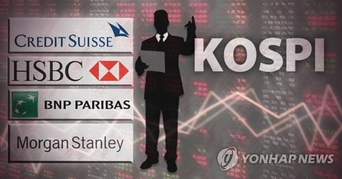 Foreign investors boost S. Korean stock holdings for 7th month - 1