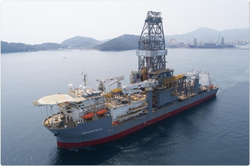 Daewoo Shipbuilding delivers drill ship - 1
