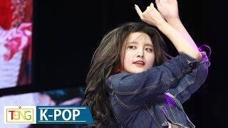 "At showcase, EXID's Jeonghwa shows choreography for ""DDD"" - 2"