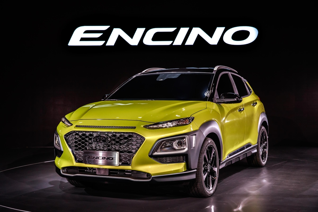 Hyundai Motor's Encino subcompact SUV (Photo courtesy of Hyundai Motor) (Yonhap)