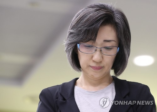 This photo, filed Sept. 27, 2016, captures Choi Eun-young, former chairwoman of the now-defunct Hanjin Shipping Co. (Yonhap)