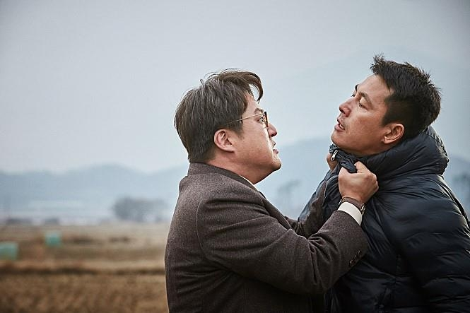 "A still from ""Steel Rain"" provided by distributor NEW (Yonhap)"
