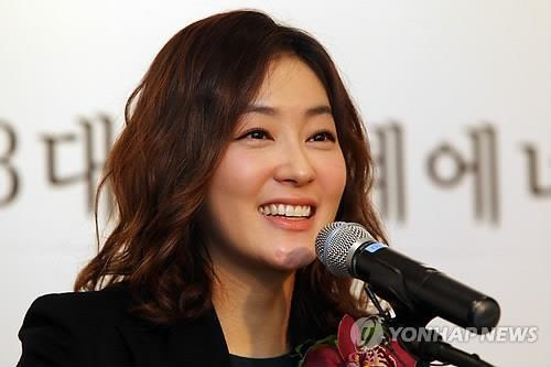 Actress Park Jin-hee in this file photo (Yonhap)