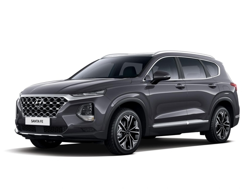 The new Santa Fe by Hyundai Motor, which provided the photo (Yonhap)