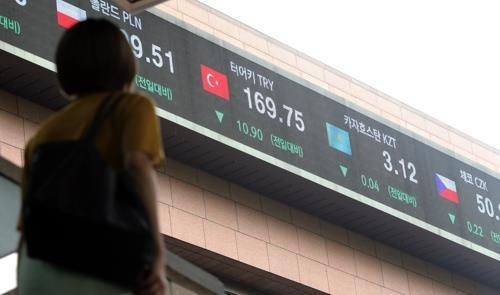 Seoul stocks close at annual low on Turkey crisis - 1