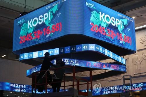 Foreigners turn to net sellers of Korean shares in 2018: data