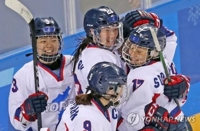 N.K. hockey team goalie calls for continued exchanges with S. Korea