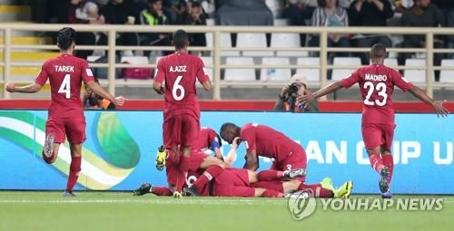 Asian Cup) S  Korea meet high-flying Qatar in quarterfinals