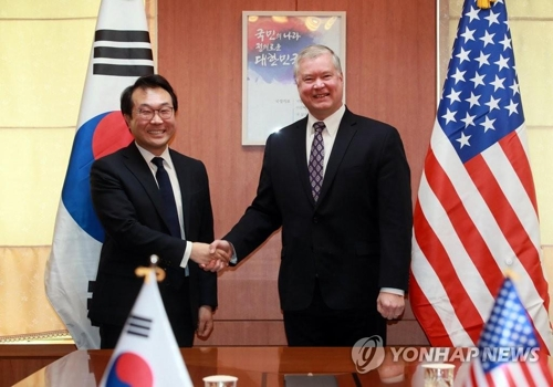 (3rd LD) S. Korean, U.S. nuclear envoys to discuss post-summit steps on N. Korea