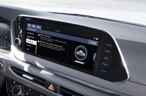 Hyundai adds Bose sound system to all-new Sonata