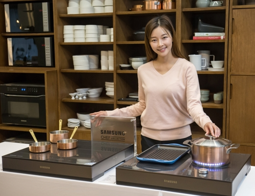 Samsung bets on growing electric cooktop market