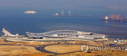 Incheon's new int'l ferry terminal to be completed in June