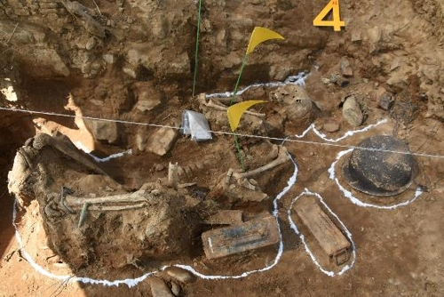 S. Korea discovers skeleton of apparent Korean soldier in DMZ