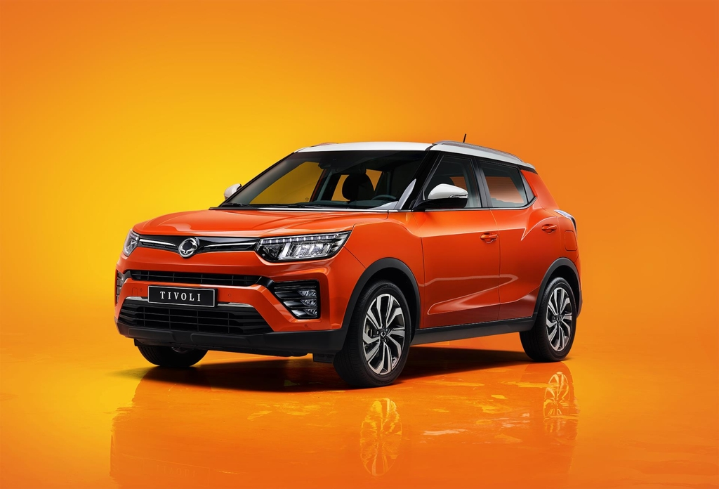 This file photo provided by SsangYong Motor shows the upgraded Tivoli compact SUV. (PHOTO NOT FOR SALE) (Yonhap)