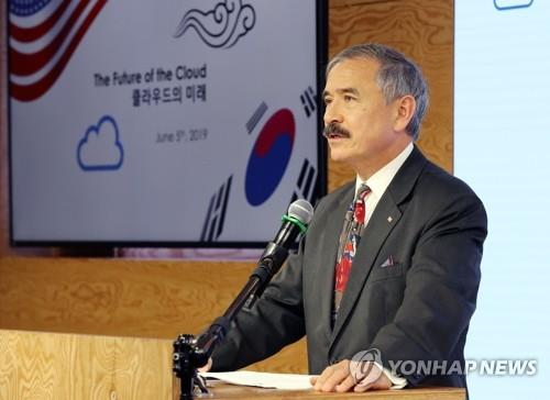 Washington's top envoy in Seoul highlights security in 5G era
