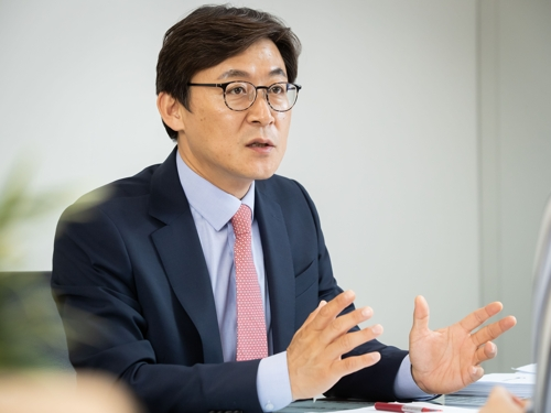 Kwon Dae-young, director-general of the Financial Innovation Bureau is shown in this photo provided by the Financial Services Commission. (PHOTO NOT FOR SALE) (Yonhap)
