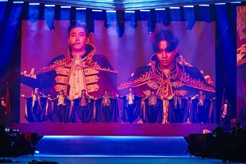 Super Junior performs 1st Saudi Arabian concert | Yonhap
