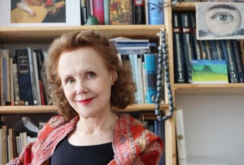 This photo, provided by the Isang Yun Peace Foundation, shows Finnish composer Kaija Saariaho. (PHOTO NOT FOR SALE) (Yonhap)