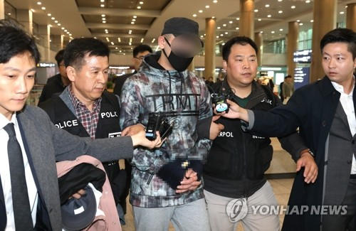(LEAD) Kazakh man extradited over suspected hit-and-run incident in S. Korea