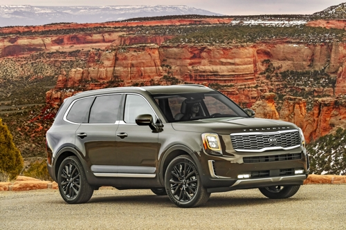 (LEAD) Kia Telluride named MotorTrend's SUV of the Year 2020