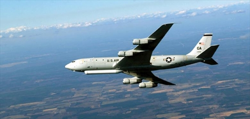 This file photo, captured from the U.S. Air Force website, shows an E-8C. (PHOTO NOT FOR SALE) (Yonhap)
