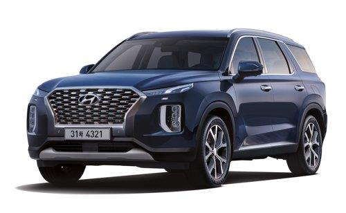 This file photo provided by Hyundai Motor shows its flagship Palisade SUV. (PHOTO NOT FOR SALE) (Yonhap)