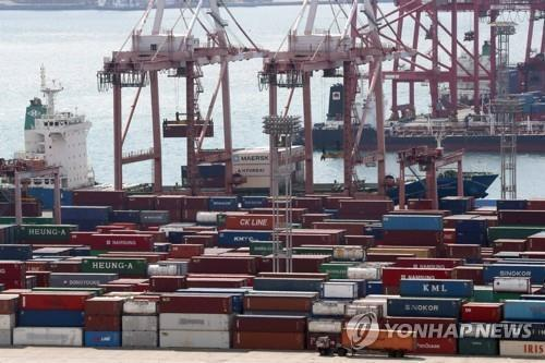 S. Korea's exports up 4.5 pct in Feb.