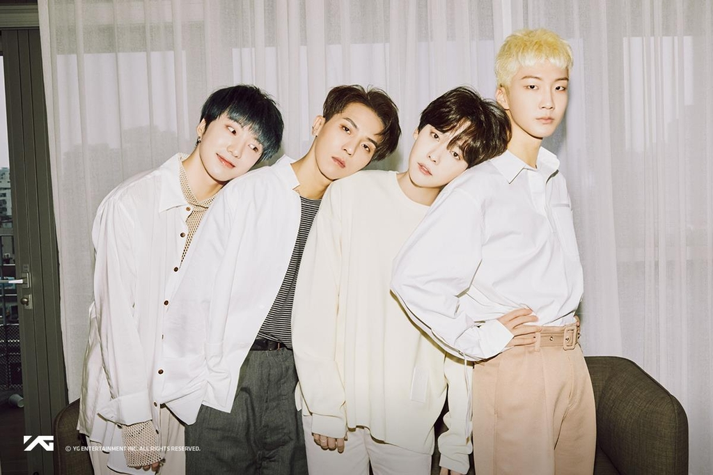 An image of WINNER, provided by YG Entertainment (PHOTO NOT FOR SALE) (Yonhap)