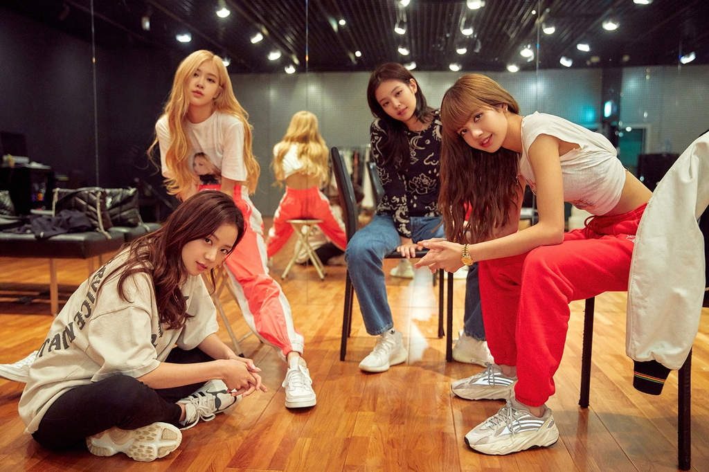 "This image, provided by Netflix, shows a scene from the film ""BLACKPINK: Light Up the Sky."" (PHOTO NOT FOR SALE) (Yonhap)"
