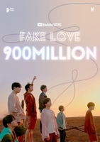 'Fake Love' becomes 4th BTS video to top 900 mln views