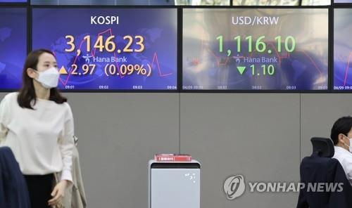 Foreigners remain net sellers of S. Korean stocks in March - 1