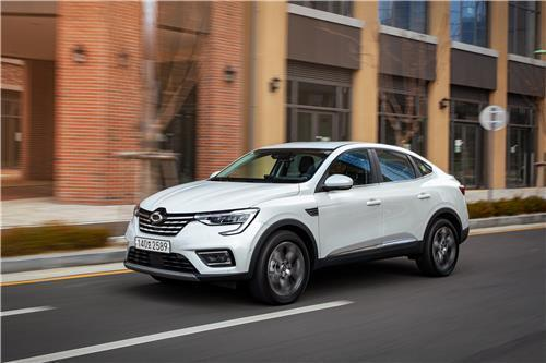This photo provided by Renault Samsung Motors shows the XM3 compact sport utility vehicle. (PHOTO NOT FOR SALE) (Yonhap)