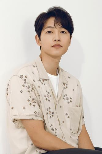 This photo provided by HiStory D&C shows actor Song Joong-ki. (PHOTO NOT FOR SALE) (Yonhap)