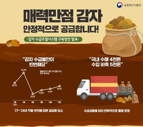 감자 수급조절 시스템 구축 방안 발표