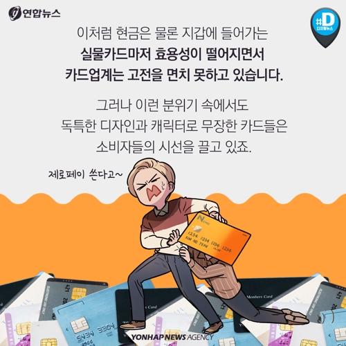 [카드뉴스] BTS, 미니언즈…캐릭터로 주목받는 신용카드 - 7