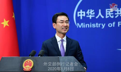 겅솽(耿爽) 중국 외교부 대변인