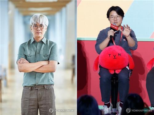 김태호 MBC PD(왼쪽)와 나영석 CJ ENM PD