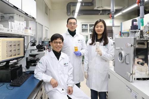 유연한 트랜지스터 절연체 개발한 한국화학연구원 연구팀