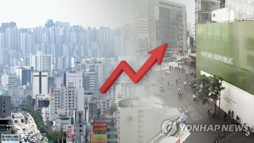 전국 표준지 공시지가 6.33% 상승