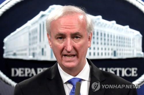 제프리 로즌 미 법무장관 대행 [로이터=연합뉴스 자료사진]
