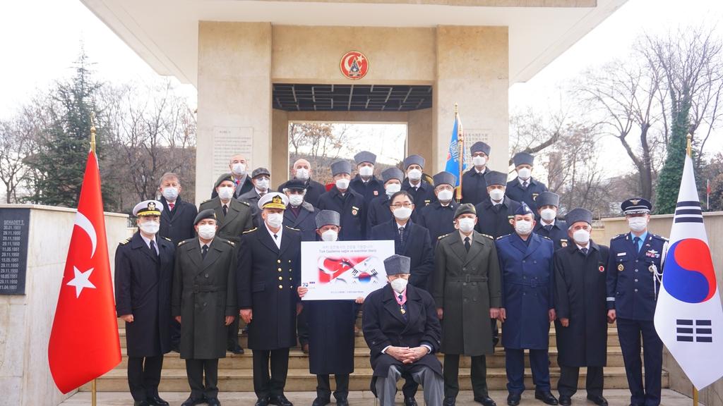 주터키한국대사관, 6·25 전쟁 금양정리 전투 70주년 행사 개최